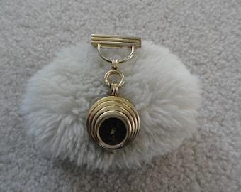 Vintage Timex Quartz Brooch Pin Watch