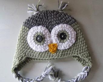 Child Owl Hat