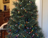 Christmas Tree Garland - 8 Yards Long! - Handmade at Acres of Hope, Uganda