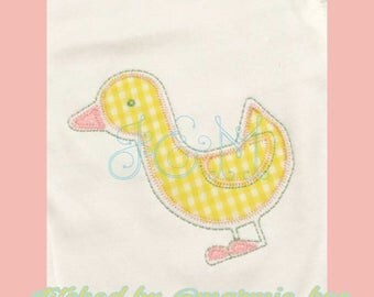 Little Duckling Applique Embroidery Design
