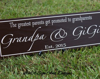 Mothers Day Gift for Grandma-Pregnancy Reveal to Grandparents-Baby Announcement Grandparent-New Grandma-Grandmother Gift-Gifts for Grandma