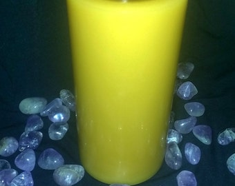 3 inch Wide by 6 inch High Round Pillar Candle - Made To Order - Custom - Home Decor - Round Candle - High Quality Scents and Colorants