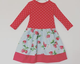 Strawberry dress / cath kidston