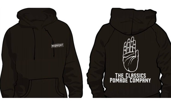 The Classics Pomade Co hoodie L