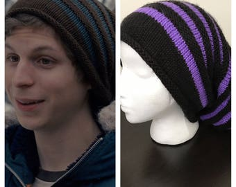 Scott Pilgrim Hat Made to Order Hand Knitted