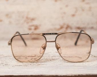 Men vintage eyewear men vintage eyeglasses men reading glasses frame glasses gold frame metal frame glasses aviator frame square glasses