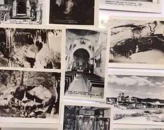 Small Vintage Postcards