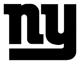 New York Giants Vinyl Sticker