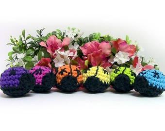 Ladybug Cat Toys - Rainbow Set of 6