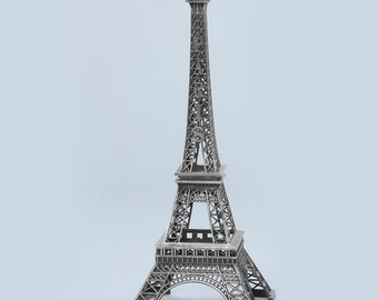 Silver Eiffel Tower Centerpiece