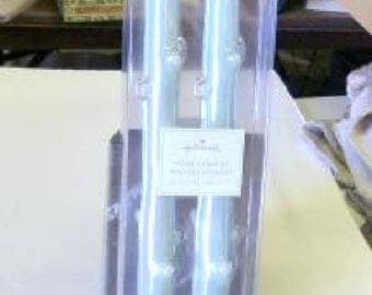 """Hallmark Taper Candles Set of 2 unopened Bougies Effilees Like New in Original Package Collectibles Decoration 11-1/2"""" long"""