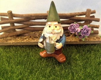 Dirty Old Gnome Needs A New Home Fairy Garden Accessory