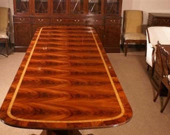American Large Mahogany Conference Table, 13ft Long, Retail 14k , Shipping  Not Free!