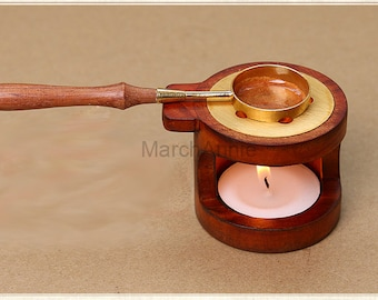 tools for wax sealing stamp - sealing wax tools Spoon and Stove