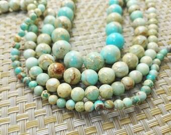 Natural Sea Sediment Jasper Beads 4mm  6mm 8mm 10mm 12mm ,Wholesale Beads