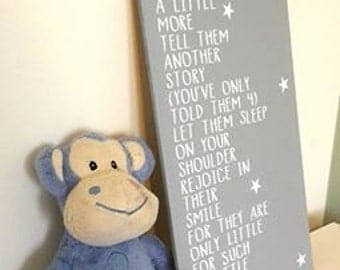 hold them a little longer baby twins twins sign new baby gift sentimental nursery sign