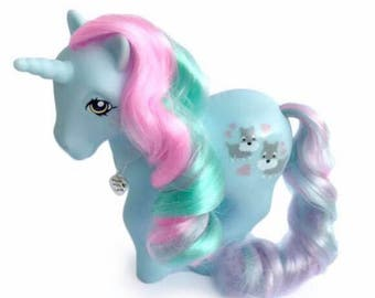 CUSTOM PONY Puppy Love Matte Edition Unicorn