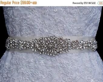 Bridal Belt , Wedding Sash , Wedding Sash Belt , Bridal Sash Belt , Crystal Rhinestone Sash Belt , Bridal Prom Beaded JewelryBelt