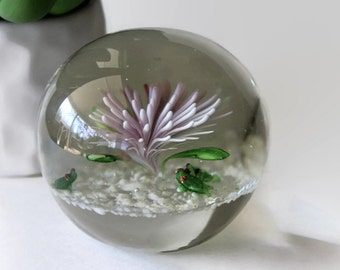 Whimsical Glass Paperweight