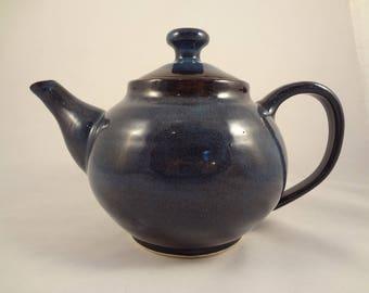 Blue/black Teapot