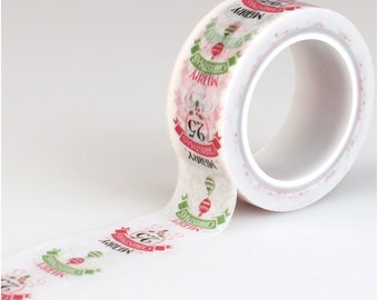 Carta Bella Decorative Tape - Merry Christmas