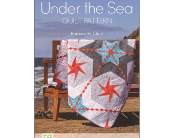 Under the Sea Quilt Pattern by Barbara Cline, Free Shipping