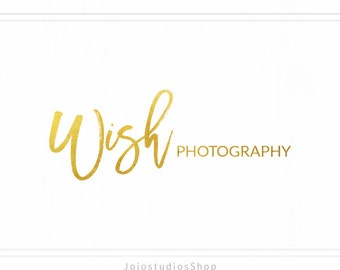 Trendy Modern Logo, Bold Photography Logo, Name Logo, Premade Photo Logo, Signature Logo, Design Logo, Simple Logo, Gold Logo Design