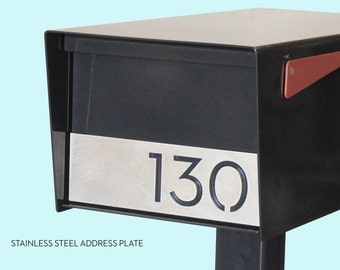 Stainless Steel Address Plates