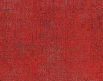 Moda Grunge Basics RED Mottled Background Fabric 30150-151 BTY