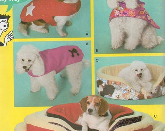 Simplicity Pattern 5219 DOG COVERS & COATS in 3 Sizes