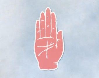 Open Hands Sticker