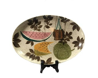 Red Wing Tampico Wine and Melon Serving Platter 15""
