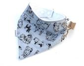 Bandana Bib For Boys - Baby Drool Scarf - Dog Baby Bib - Baby Bibs - Bibs For -Toddlers - Baby Newborn Gift - Baby Boy - Teething Bibs -