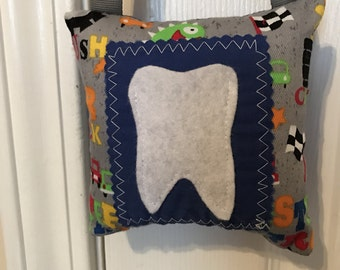 Tooth Fairy Pillow, Monsters Tooth Fairy Pillow
