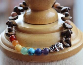 #5 Chakra bracelet, lifestyle, wrist jewelry