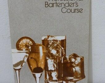 Vintage Seagram Distillers Professional Bartender's Course Booklet