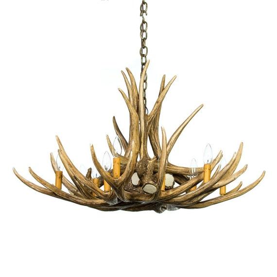 Lustre Bois De Cerf : Bois de cerf lustre, lustre en Faux bois de cerf D9, ?clairage