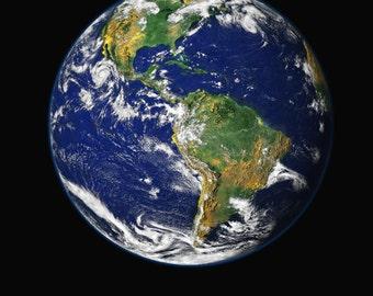 Blue Marble, Earth Photo Print