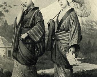 Japanese Girls in 1902