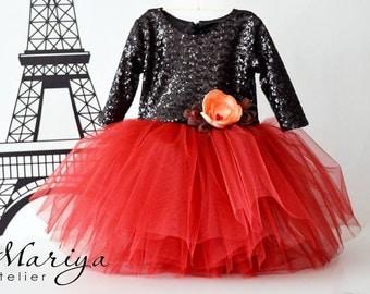 Birthday Dress, Tutu Dress, Dress for princesses, Two colors dress, Fabulous dress, Girls Dress, Wedding, Toddler Dress, Birthday Dress