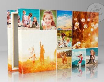 Custom photo collage print, canvas print collage, photo collage, photo collage print, family photos collage, wedding photo collage