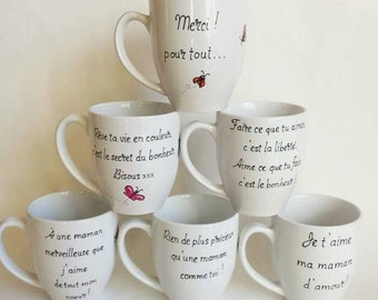 Cup, memo, porcelain, gift, decoration, memo, adult, the hand-painted mugs