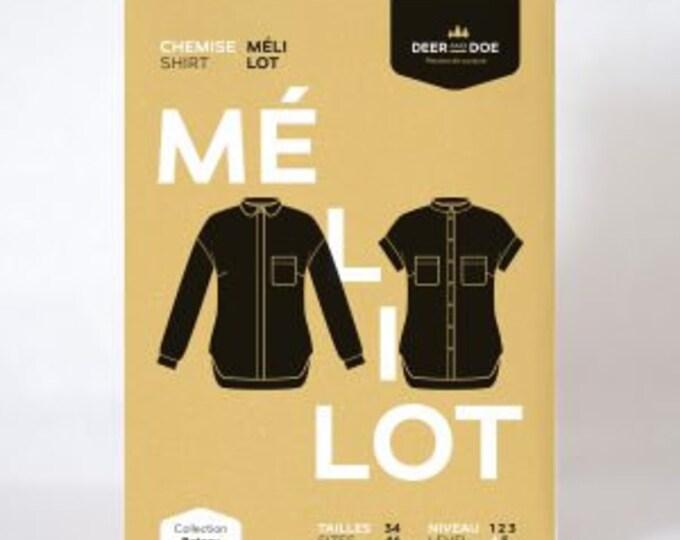 Mélilot Shirt- Deer and Doe Patterns