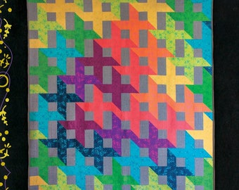 Shift Quilt Pattern by Alison Glass Free Shipping in the US
