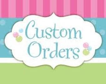 1 Dozen Custom Hand Decorated Cookies