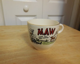 MAW COFFEE CUP