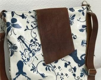 Hide and Seek Hand Painted Crossbody Bag