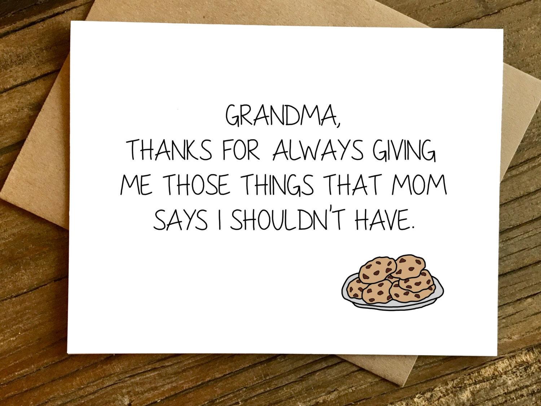 Mothers Day Card for Grandma Grandma Card Grandma – Birthday Cards for Grandmas