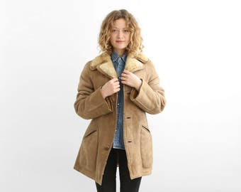 Shearling jacket – Etsy