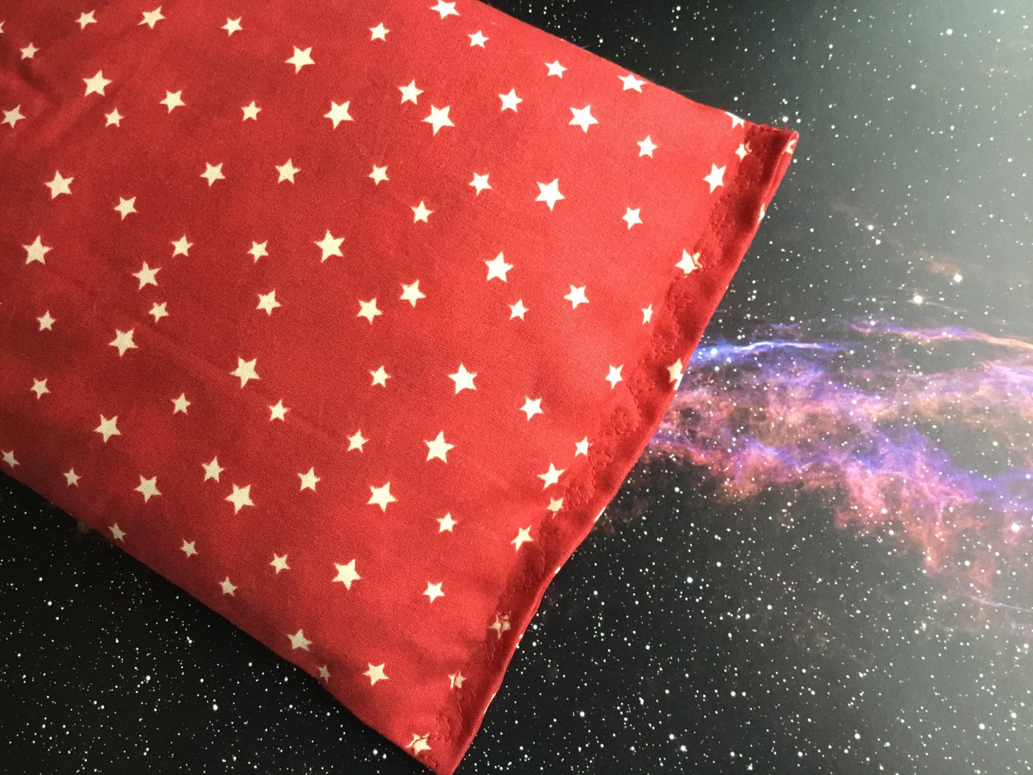Rice bags hot cold pack heating pad space cotton for Space themed fleece fabric
